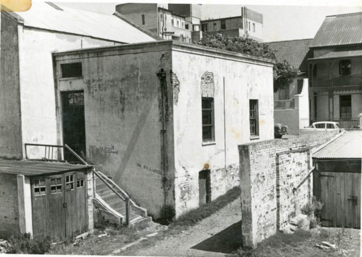 The Billiards Room behind the Algoa House, where it all started