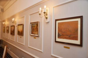 The PE St George's Club dinning room