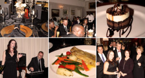 Scenes from the Black Tie Dinner.