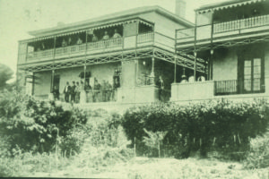 Stanley House - first home of the The Junior Club tat became the St George's Club