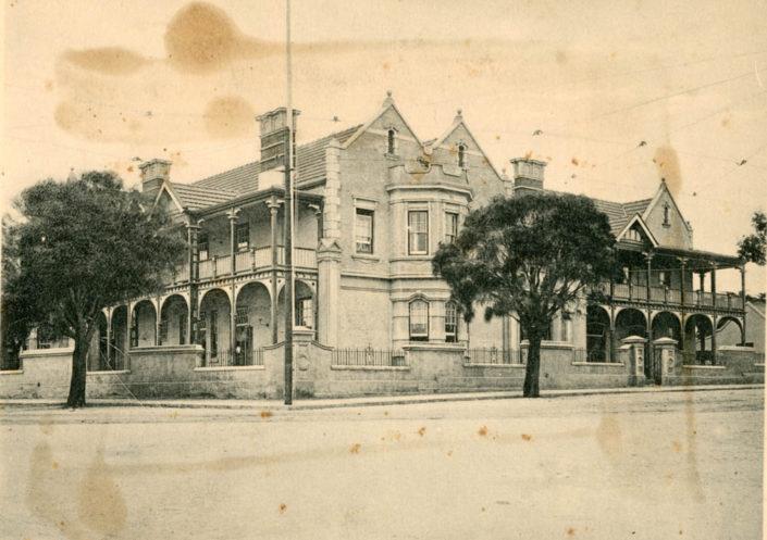 St George's Club building in Western Road