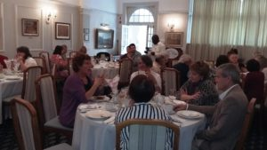 Our high Tea guests enjoyed good conversation, delectable treats and beautiful harp music.