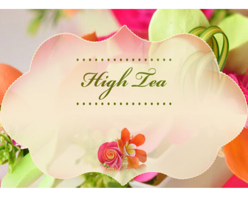 High Tea Icon 22 April 2017